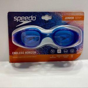 NWT Speedo Junior Goggles Endless Horizon Anti Fog